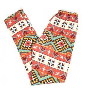 Pants - 🆑Tribal Print Super Soft Full Length Leggings OS